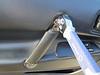 Removing door pull bolt