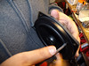 """Mounting aftermarket speaker to speaker adapter ring     from  <a href=""""http://www.car-speaker-adapters.com/items.php?id=SAK058""""> Car-Speaker-Adapters.com</a>"""