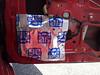 Fatmat Sound deadener installed on door