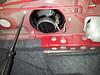 Reinstalling fasteners in trunk