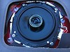 "Aftermarket speaker and speaker adapter   from <a href=""http://car-speaker-adapters.com/items.php?id=SAK058""> Car-Speaker-Adapters.com</a>   installed in rear deck"