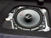 """Aftermarket speaker and speaker adapter from <a href=""""http://car-speaker-adapters.com/items.php?id=SAK058""""> Car-Speaker-Adapters.com</a>  installed in rear deck"""