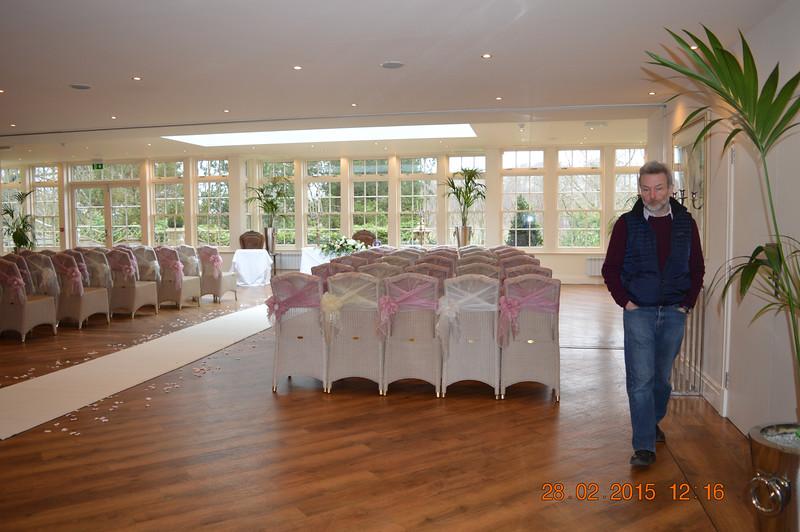 Mitton wedding room