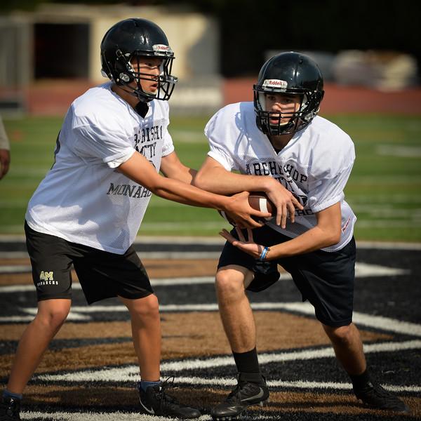 2017 Mitty Football Practice-21