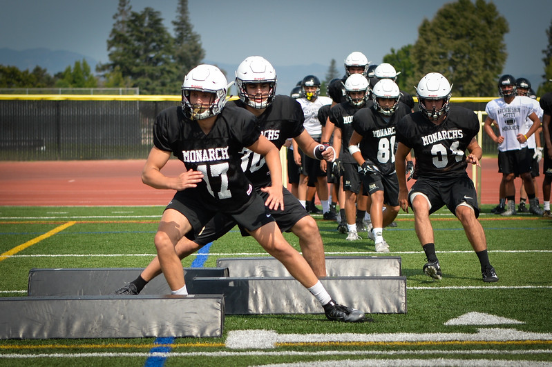 2017 Mitty Football Practice-1