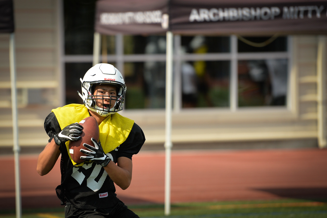 2017 Mitty Football Practice-8
