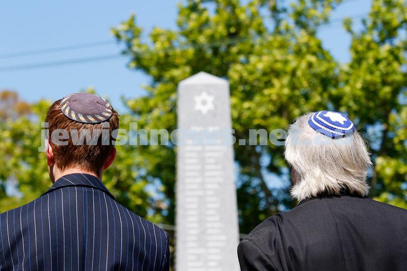 18-11-18. Mitzvah Day 2018. VAJEX Australia. Rememberence Day service. Photo: Peter Haskin