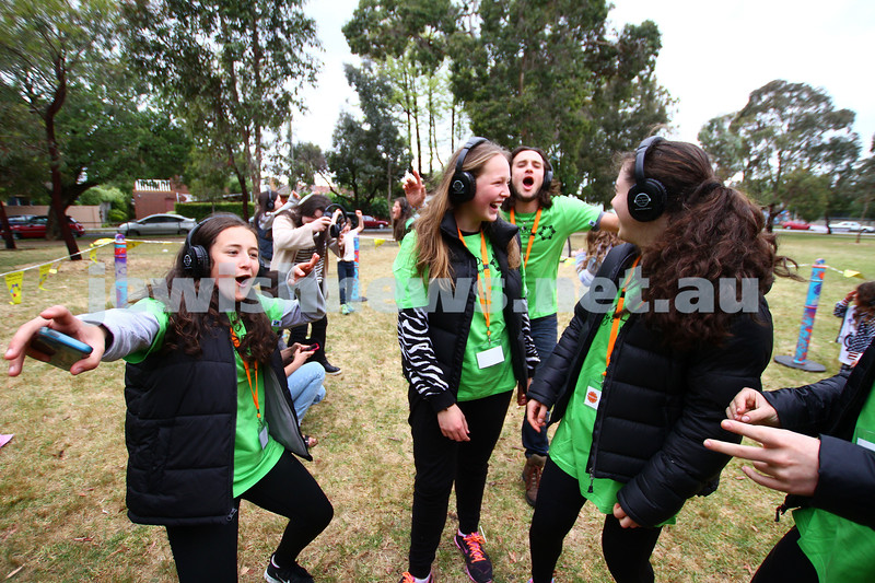 16-11-14. Mitzvah Day 2014. Stand Up.  Annual picnic at Caulfield Park. Photo: Peter Haskin