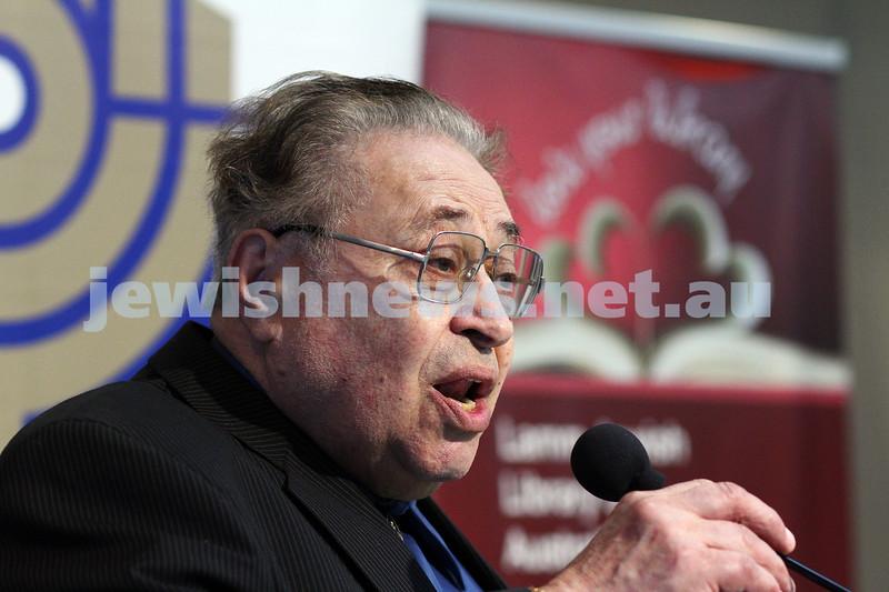 16-11-14. Mitzvah Day 2014. B'nai B'rith concert at Beth Weizmann. Photo: Peter Haskin