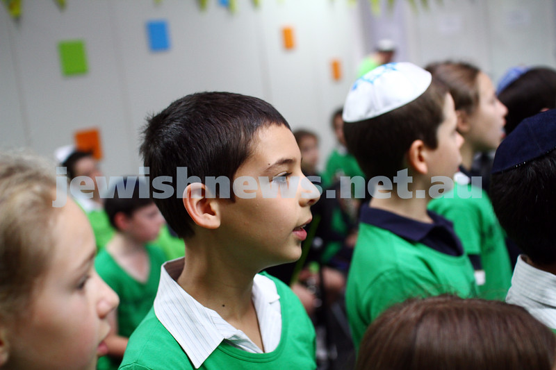 16-11-14. Mitzvah Day 2014. Seniors lunch at Kehilat Nitzan. Photo: Peter Haskin