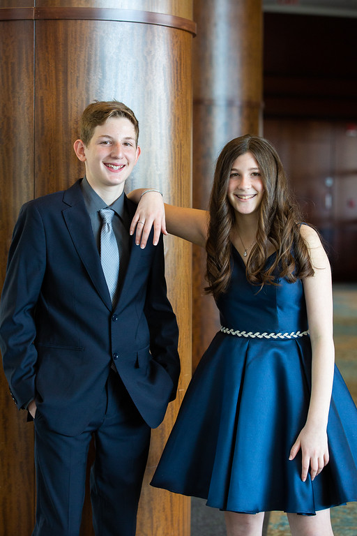 Daniel and Sarah B'nai Mitzvah