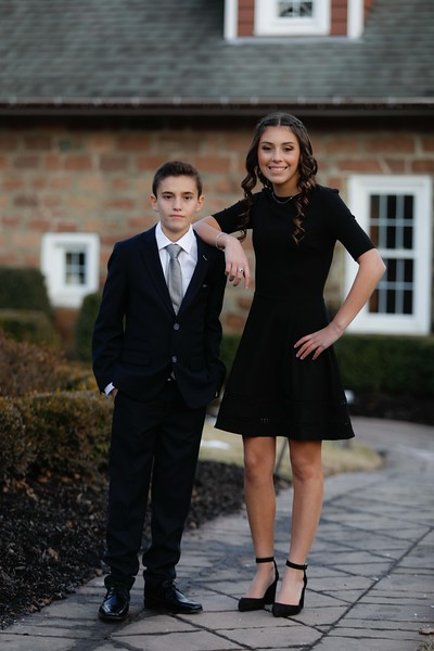 1-20-18 Elayna and Ethan Mitzvah