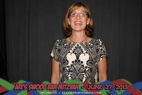 Ari Swood's Mitzvah 6-27-15