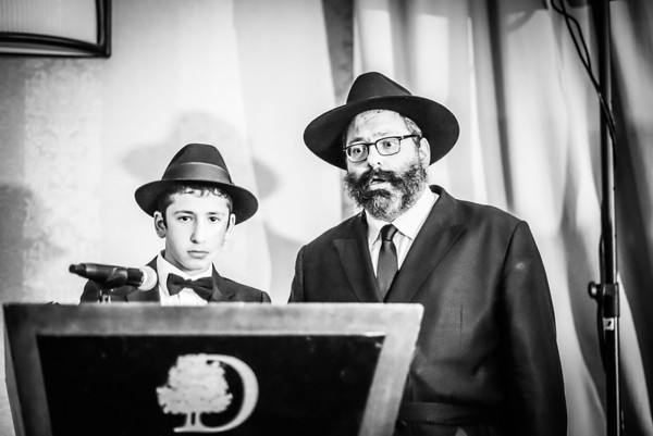 Bar Mitzvah of Schneur Zalman Jacobson in Tarrytown, NY, Jnuary 16 17, 2015.  Photo by Ben Droz.