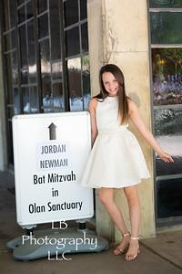 Jordan Newman's Bat Mitzvah