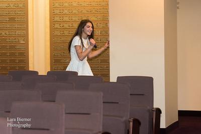 Lindsey Berkowitz Bat Mitzvah Rehearsal
