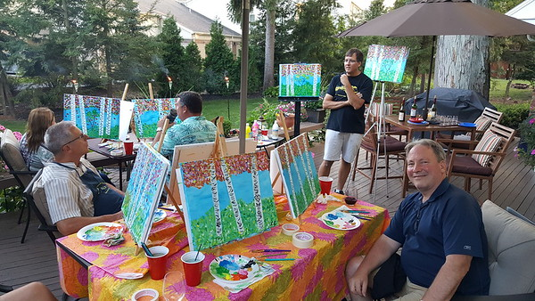 Painting Party August 12, 2017
