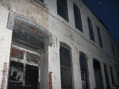 """""""Hey...Over Here.""""  Abandoned Cambridge Warehouse."""