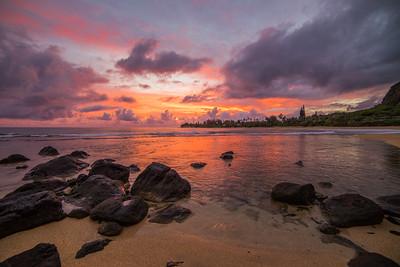 Sunrise to Pele