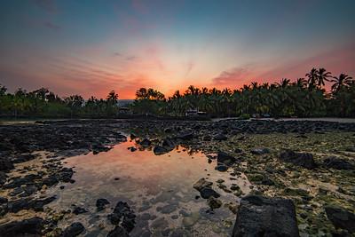 Fishpond sunrise