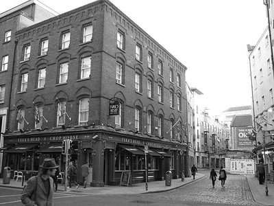 Morning in Temple Bar.