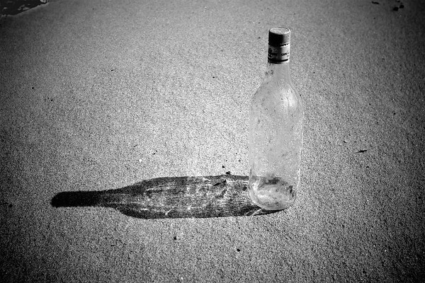 Bottle without a message.