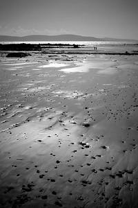 Furbo's beach on a winter day.