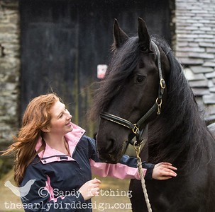 Friesian Experience Elicia & Drommie Mar 2014