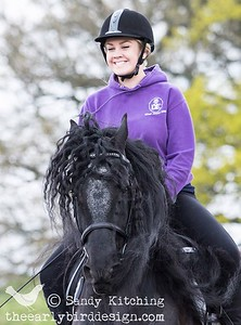Friesian Experience Jemma with Hidde 2014
