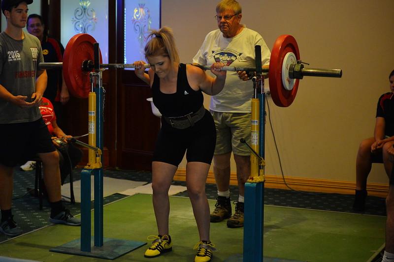 Power lifting Comp at Cobby Club