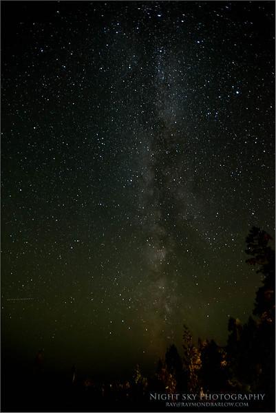 DSC_8393 Tobermory Night Sky - Milky-way 1200 x 800 web