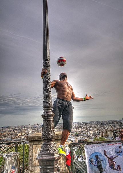 Football Acrobat