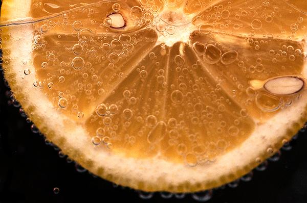 Macro. Lemon