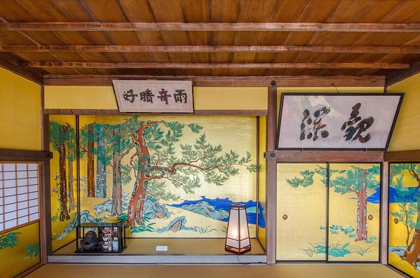Kanrantai tea house - Matsushima, Japan