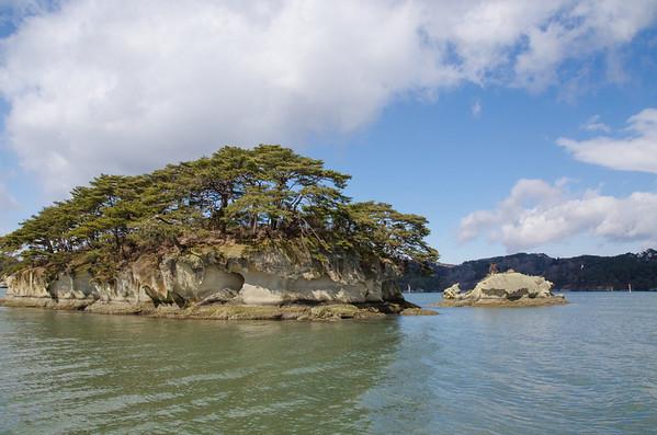 Zaijo-jima Island in Matsushima Bay, Japan