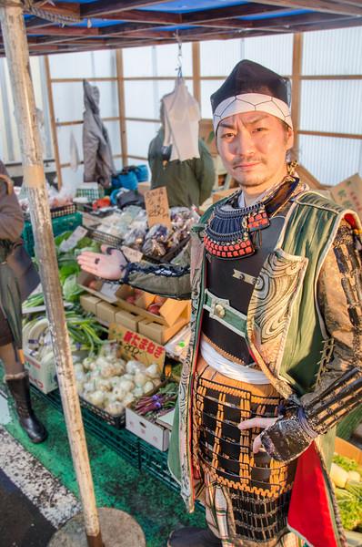 Exploring the Sendai Market with Date Busho-Tai