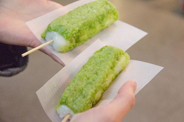 Zundamochi, edemame snack from Sendai