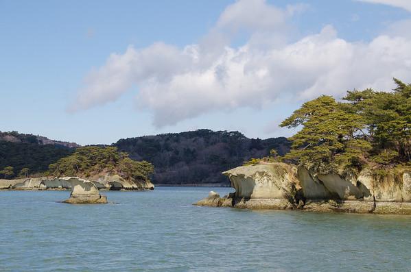 Yoroi-jima Island in Matsushima Bay, Japan
