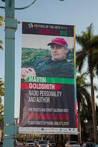 "2015 Festival of the Arts BOCA presents Martin Goldsmith Broadcaster & Author Title: ""Alex's Wake"""