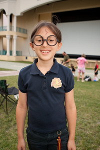 The Centre for the Arts first night in a series of Magical Movie Nights at the Count de Hoernle Amphitheater at Mizner Park leading up to the release of the newest Harry Potter film: Harry Potter and the Half-Blood Prince, CFA kicks off the series with fun and games for the entire family!