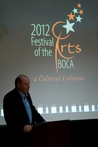 2012 Festival of the Arts Boca Announcement Event
