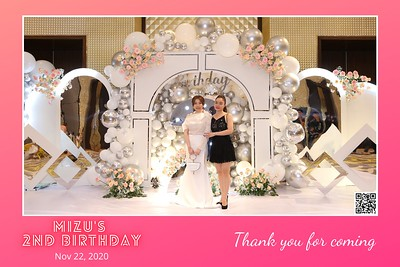 Mizu's 2nd Birthday instant print photo booth @ Caravelle Hotel Ho Chi Minh City | Chụp hình in ảnh lấy liền Tiệc Sinh nhật tại TP. Hồ Chí Minh | Photo Booth Vietnam - Photobooth.vn