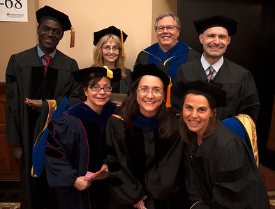 Ph D Hooding portraits