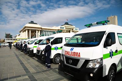 2020 оны аравдугаар сарын 13. Хүүхдийн автобус гардууллаа. ГЭРЭЛ ЗУРГИЙГ Д.ЗАНДАНБАТ/MPA