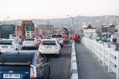 2020 оны аравдугаар сарын 22. Автозамын түгжрэл.  ГЭРЭЛ ЗУРГИЙГ Д.ЗАНДАНБАТ/MPA