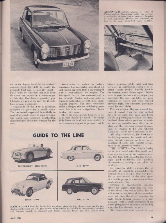 Motor Life 1959 April  2