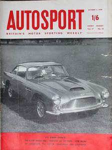 Autosport 1958 Oct 3rd 1