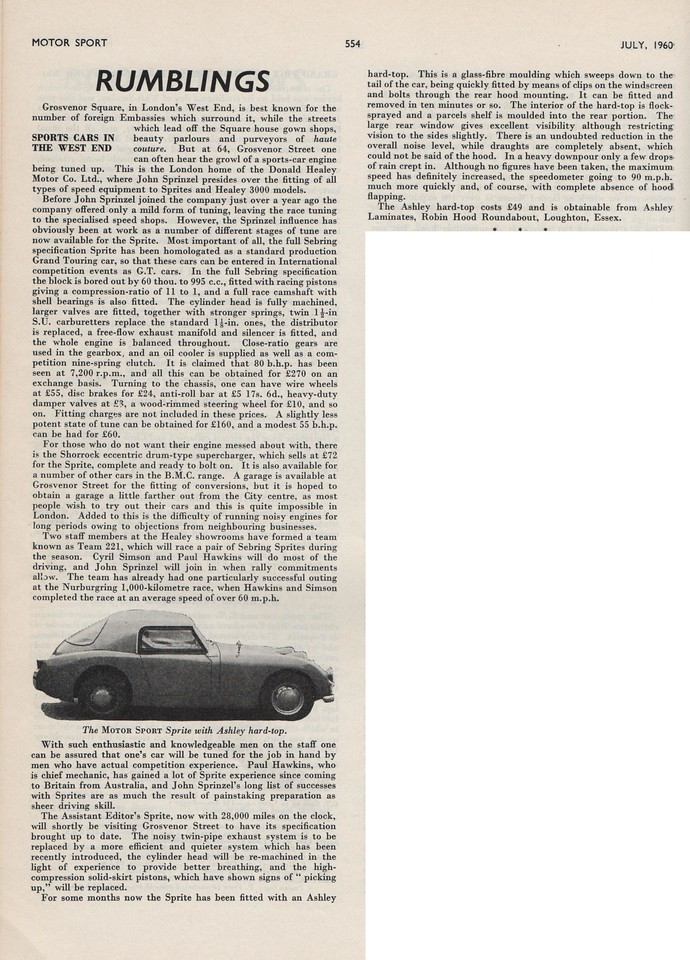 MotorSport 1960 July 1