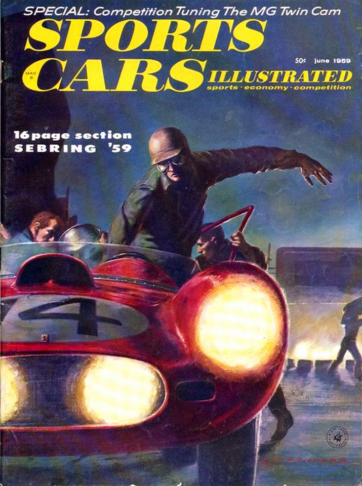 Sports Car Illustrated USA 1959 June
