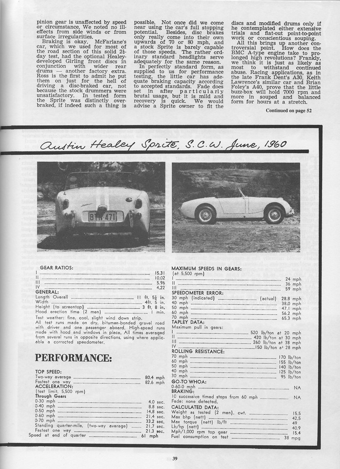 Sports Car World (Australia) 1960 June 7